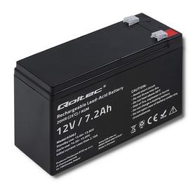 Qoltec Akumulator AGM | 12V | 7.2 Ah | max 108A