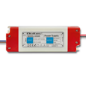 Qoltec Zasilacz impulsowy LED IP20 | 60W | 12V | 5A