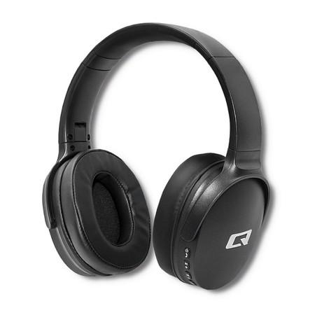 Qoltec Słuchawki bezprzewodowe z mikrofonem Super Bass DYNAMIC | BT | Czarne (1)