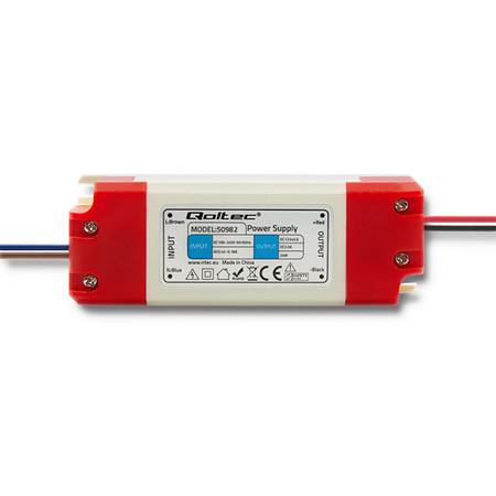 Qoltec Zasilacz impulsowy LED IP20   24W   12V   2A (1)
