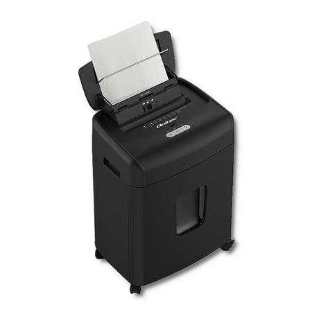 Qoltec Niszczarka AFIADO z automatycznym podajnikiem papieru | Micro cut | 23L (1)