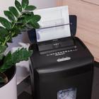 Qoltec Niszczarka AFIADO z automatycznym podajnikiem papieru | Micro cut | 23L (5)