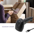 Qoltec Laserowy czytnik kodów kreskowych 1D | CCD | USB | Czarny (2)
