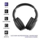 Qoltec Słuchawki bezprzewodowe z mikrofonem Super Bass DYNAMIC | BT | Czarne (2)