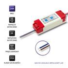 Qoltec Zasilacz impulsowy LED IP20   24W   12V   2A (2)