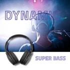 Qoltec Słuchawki bezprzewodowe z mikrofonem Super Bass DYNAMIC | BT | Czarne (4)