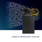 Qoltec Zasilacz ATX 2000W   80Plus Gold   Bitcoin Miner   ver.2 (5)
