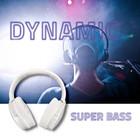 Qoltec Słuchawki bezprzewodowe z mikrofonem Super Bass DYNAMIC | BT | Białe perłowe (4)